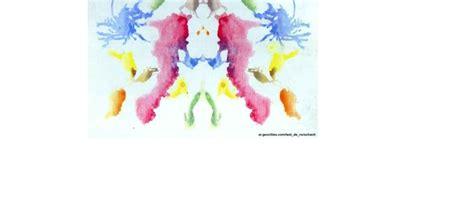 psicologia tavole di rorschach psicologia clinica schemi e sunti comer e tavole