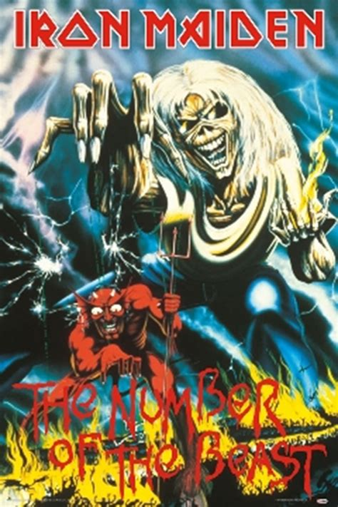 Plakat Iron Maiden by Iron Maiden Number Of The Beast Poster In 2018 Iron
