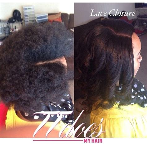 full sew in weave with no hair out client is fully natural full sew in with no hair left out