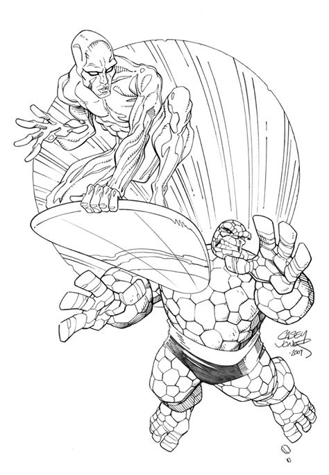 silver surfer coloring pages az coloring pages