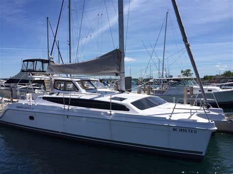 gemini catamaran sailing blogs gemini legacy 35 catamaran great lakes sailing co
