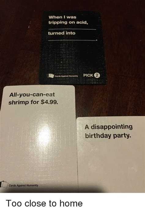 Birthday Cards Against Humanity