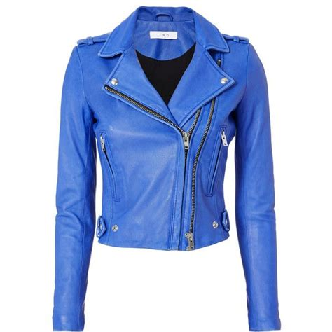blue motorbike jacket best 25 blue leather jackets ideas on s
