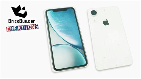 lego iphone xr white showcase and tutorial brick builder creations