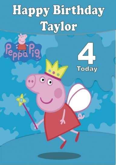 peppa pig feliz cumpleaos 8401906261 invitaciones cumplea 241 os peppa pig fotos ideas diy foto ella hoy