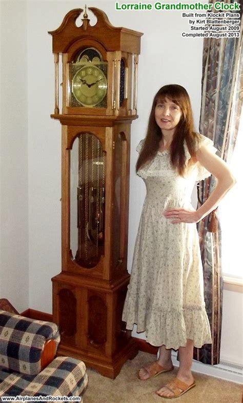 grandmother clock plans  woodworking