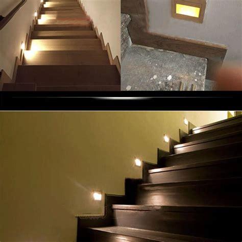 sensor lights for stairs 10pcs indoor pir motion sensor led stair light infrared