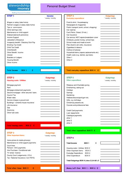 28 budget personal template excel budget templates