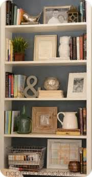 25 best ideas about decorating a bookcase on