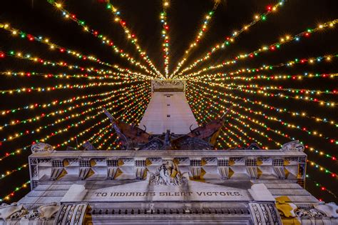 lighting of the christmas tree indianapolis is there any place more beautiful than indy at christmas