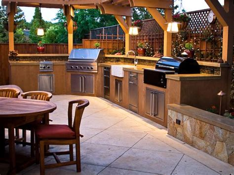 outdoor kitchen design ideas outdoor kitchen design ideas pictures hgtv