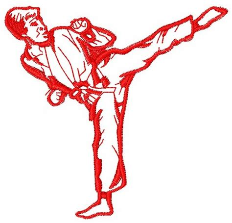 embroidery design karate karate man embroidery designs machine embroidery designs