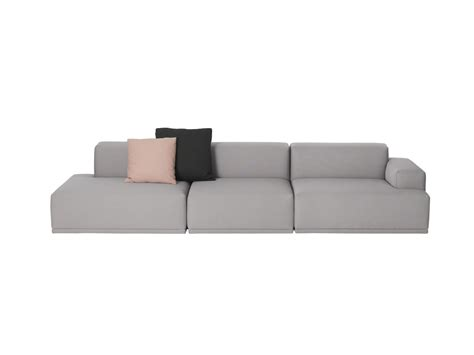 how to connect sectional sofa together buy the muuto connect modular sofa at nest co uk