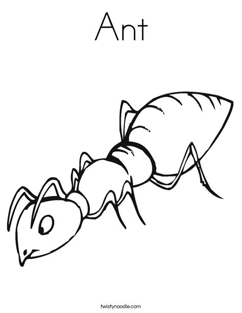ant coloring page ant color page coloring home