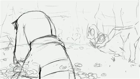 rough layout animation save me undertale animation no 03 rough by v0idless on