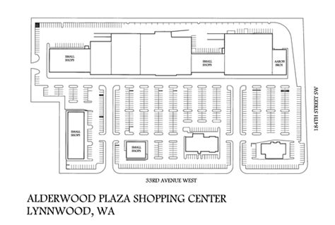 layout of alderwood mall gramor commercial and multi family real estate