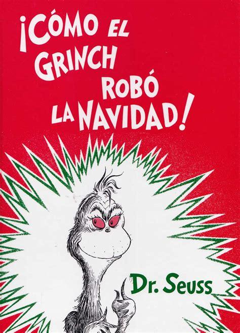 como el grinch robo cinco libros para regalar en esta navidad miaublog
