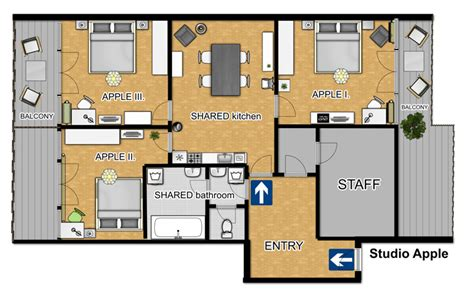 floor plan mac apple room prague center your apartments