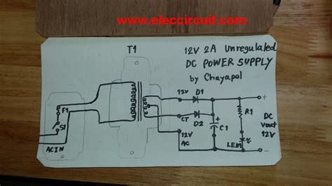Inverter 1300w 12vdc To 220 230 Vac Step Up Plus Usb 1 simple 12v 2a dc power supply eleccircuit