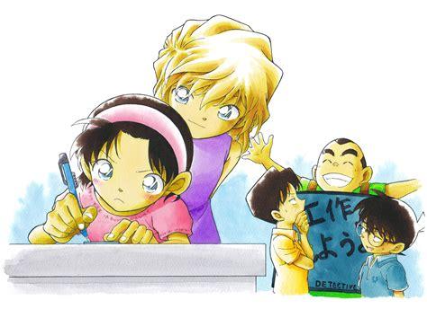 Bross Lencana Detective Boys Anime Detective Conan shounen tanteidan 1327316 zerochan