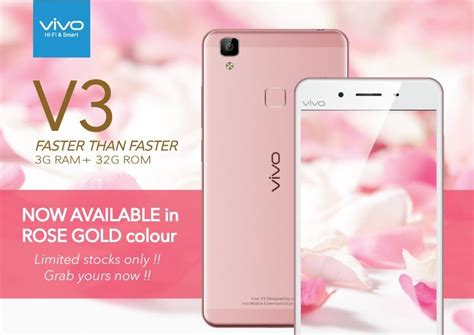 Lcd Ts Vivo V3 White vivo v3 is available for gold color with the retail price rm 1099