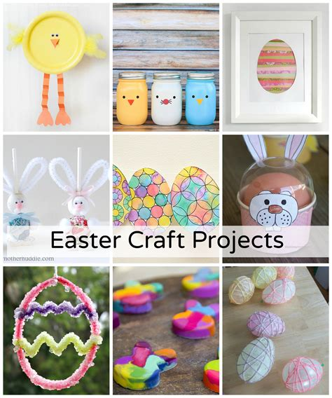 free craft projects diy easy easter craft projects the idea room