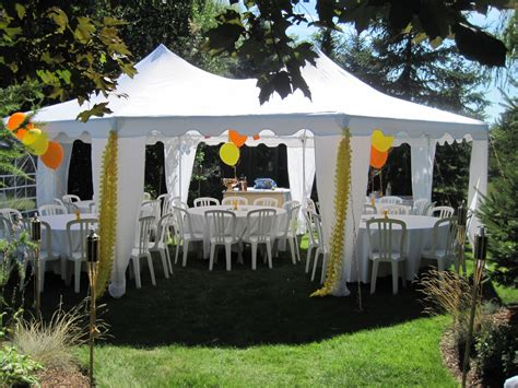 backyard rentals for parties guelph tent and event rentals cambridge kitchener oakville ontario