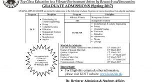 Mba Ki Form by Punjab Of Colleges Admission 2016 Fee Structure Fsc