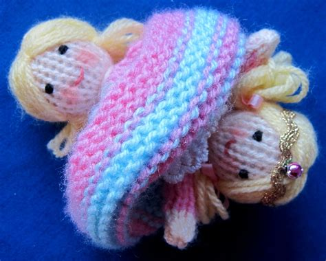 knitting pattern upside down doll flutterby patch tiny topsy the tooth fairy