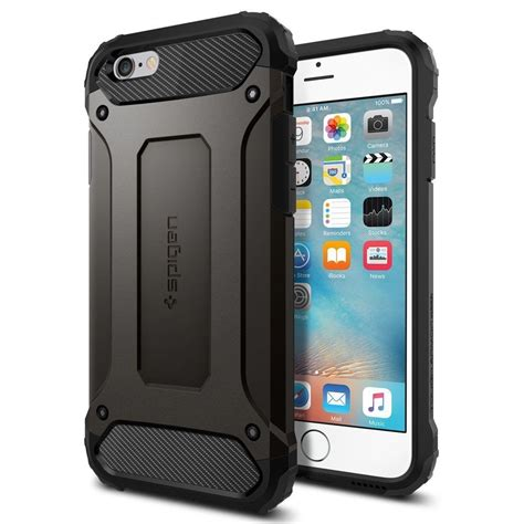 Spigen Tough Slim Armor For Iphone 6g 47 spigen tough armor tech for iphone 6s ebay