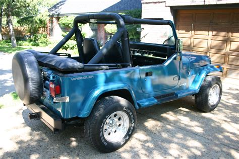 jeep wrangler turquoise for sale rrasor 1991 jeep wrangler specs photos modification info