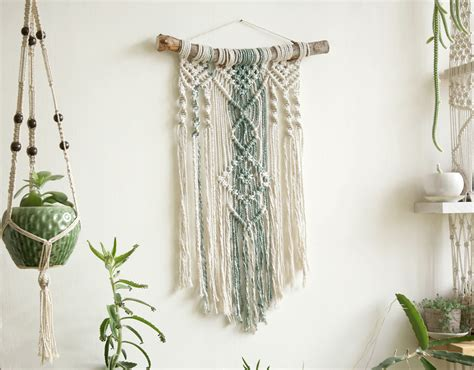 Wall Tapestry Macrame Tapestry Macrame Wall Hanging Modern