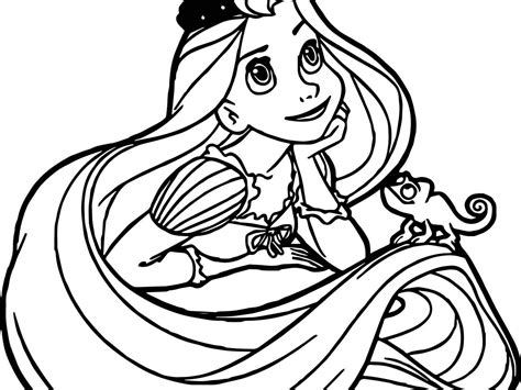 princess hair coloring pages tangled coloring pages printable coloring pages designs