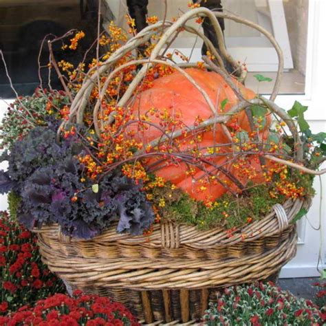fall container garden ideas 16 fall containers for gorgeous porch decor blissfully