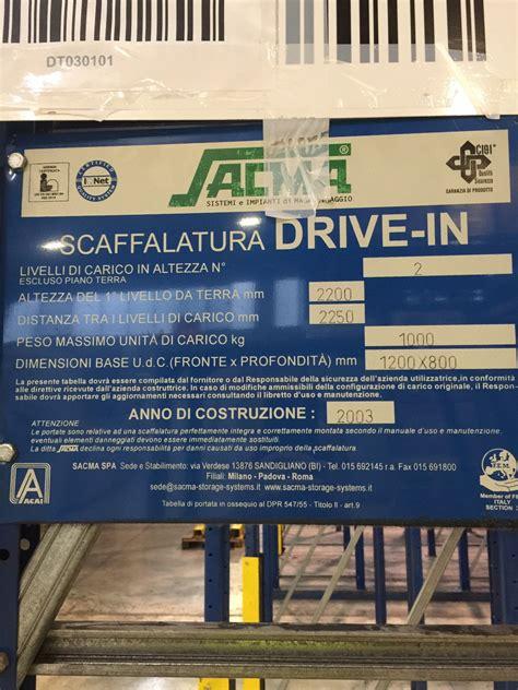 scaffali drive in scaffali drive in 28 images scaffalature drive in