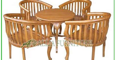 Kursi Teras Kayu Jati kursi teras klender kayu jati betawi allia furniture
