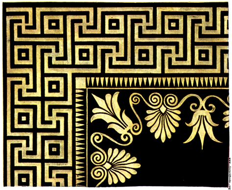 design pattern for history ancient greek marble mosaics 1 olympia