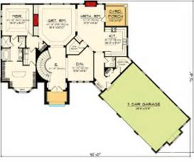 Floor Plans With Walkout Basements by Ranch Home Plan With Walkout Basement 89856ah Ranch