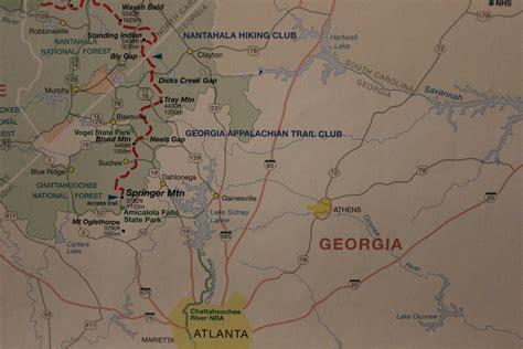 appalachian trail georgia section an appalachian trail series georgia the broken compass