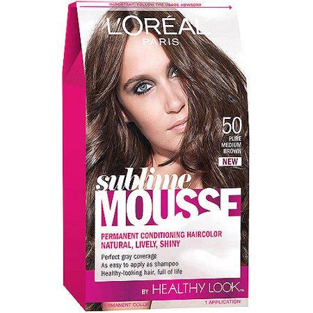 l oreal mousse hair color l oreal sublime mousse hair color walmart