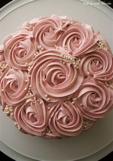 25 best ideas about rosette cake tutorial on