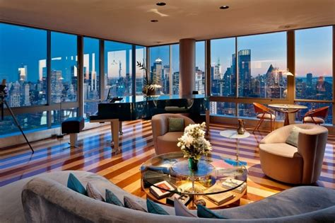 Two Story Penthouse Apartment In The Gartner Penthouse For Sale In New York City Homedsgn