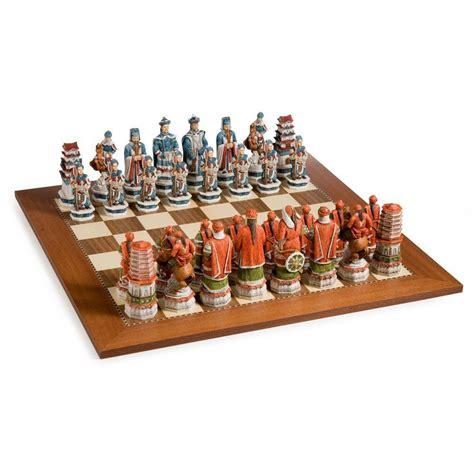 Set Ming Ming ming dynasty alabaster chess set 1 ebay