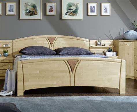 betten mit komforthöhe komfort doppelbett z b mit schubk 228 sten birke teilmassiv