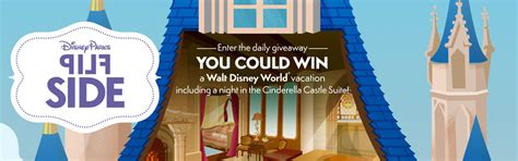Disney January Sweepstakes - win a trip to disney in january with flip side disney mousemisers