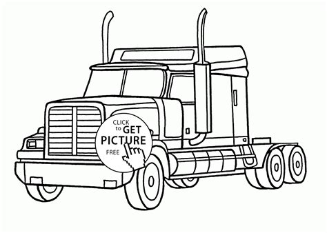 semi truck coloring pages semi coloring pages printable coloring pages