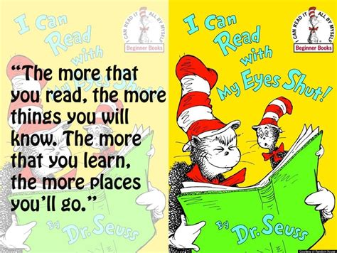 the wonderful things you will be books dr seuss quotes about reading quotesgram