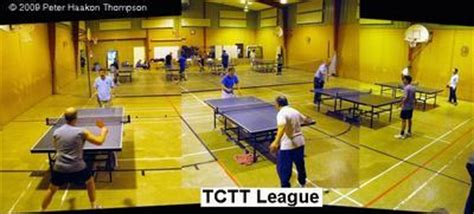 cities table tennis league