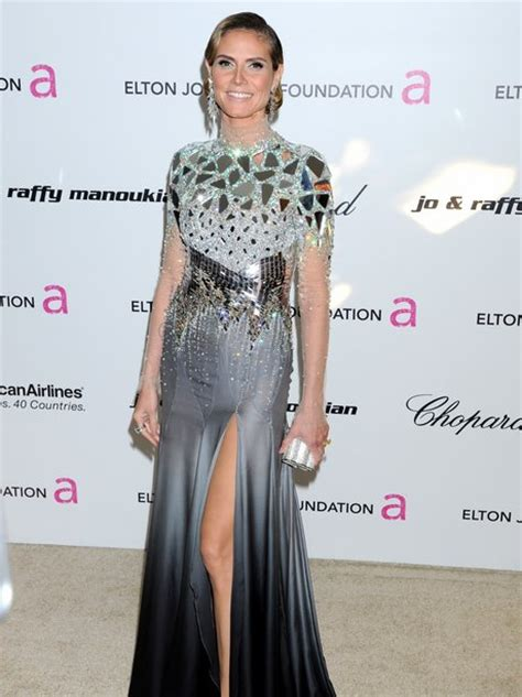 Place Your Bid To Win Heidi Klums Oscar Dress by Heidi Klum Oscars 2011 Fashion