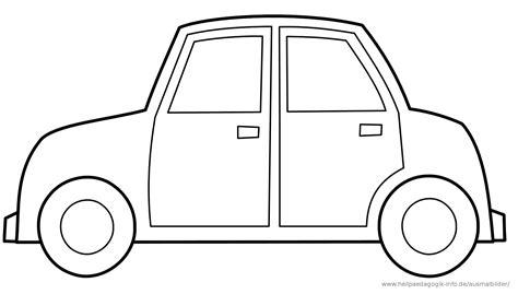 Ausmalbilder F R Kinder Autos by Malvorlage Auto Einfach Ausmalbilder F 252 R Kinder